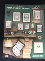 Canterbury Designs Mini Christmas Samplers Collection One Cross Stitch Patterns