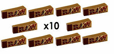 10 Raw Smoking Tip Booklets Natural Chlorine Free Rolling Roach Filter 500 Tips