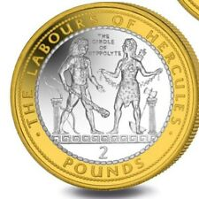 2020 The Labours of Hercules £2 coin the girdle of hyppolyte