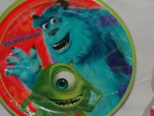 New Monsters Inc Dessert Plates Party Supplies