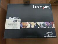 NEW GENUINE Lexmark 12A6865 Black High Yield Toner Cartridge 30k T620 T622 X620