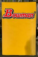 MCC BOWMAN MYSTERY PACKS - 15 CARDS, AUTOS, NUMBERED, ETC. MLB!! *READ*