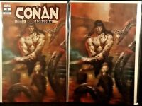 CONAN #1 LUCIO PARRILLO VARIANT SET NM MARVEL COMICS 2019 REGULAR + VIRGIN COVER