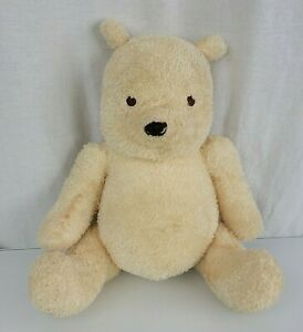 "Disney Classic Winnie the Pooh Bear It's a Girl Gram Stuffed Plush Toy Cream 11"""