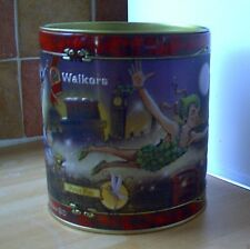 "Walkers ""J M Barrie PETER PAN"" Biscuit Tin, shabby chic, Retrò"