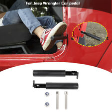 Exterior Side Door Foot Pedal Rest For Jeep Wrangler Jk JKU JL 2007+ Accessories