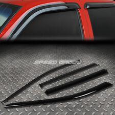 For 14-17 Nissan Rogue Suv Smoke Tint Window Visor Shade/Sun Wind/Rain Deflector (Fits: Nissan)