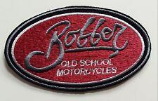 Bobber Old School Motorcycles iron on PATCH Aufnäher Parche brodé patche toppa