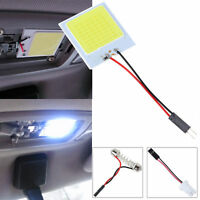 White 48 SMD COB LED T10 4W 12V Car Light Interior Panel Light Dome Lamp Bulb