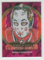 [69889] 2012-13 BETWEEN THE PIPES MASKED MEN 5 RAINBOW MURRAY BANNERMAN #MM-01