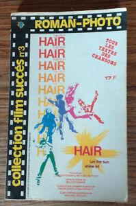 roman photo couleur de poche collection film succès - le film HAIR
