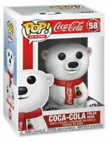 Coca-Cola Polar Bear Ad Icons Funko Pop Vinyl New in Mint Box + Protector