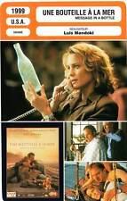 FICHE CINEMA : UNE BOUTEILLE A LA MER - Costner,Wright 1999 Message In A Bottle