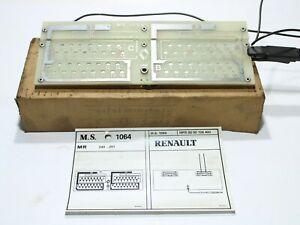 ORIGINAL Renault MS1064 Spezialwerkzeug für Tachoprüfung / 0000106400 Prüftafel