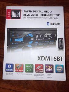 Dual Am/FM Digital Media Receiver with Bluetooth XDM16BT