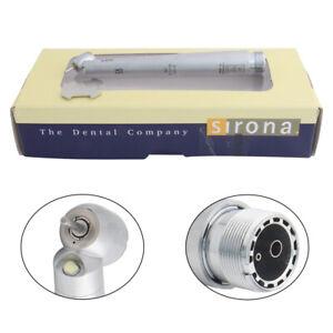 Sirona Dental LED 45 Degree High Speed Handpiece Self-powered Air Turbine 2Hole
