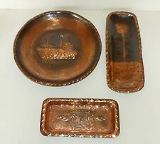 Arts & Crafts Signs/Plaques Collectable Copper Metalware
