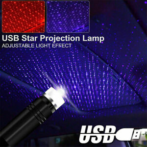 Star Light Mini USB Night Home and Car Roof Projector Romantic Atmosphere Light