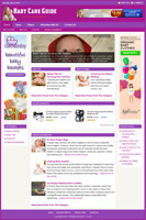 BABY CARE GUIDE - Professionally Designed Affiliate Website - Free Installation