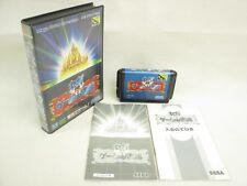 Sega GAME LIBRARY Toshokan Item ref/bbc Mega Drive Sega Import Japan GAME md