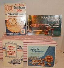 Pillsbury Grand National Recipes 1st Edition 1955~Jewel Box Cookies~Maine