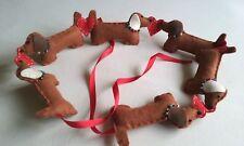 Handmade Dachshund Sausage Dog Garland/Bunting/Gift