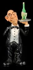 Waiter - Funny Job Figurine - Funny Occupation Present Decorative Statue