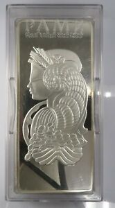 Pamp Suisse Lady Fortuna 500 Gram Fine Silver .999 Bar in Case with assay g301