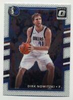2017-18 Donruss Optic DIRK NOWITZKI HOF BASE BASKETBALL CARD 34 Dallas Mavericks