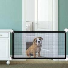 110CM Pet Dog Safety Guard Retractable Gate Folding Baby Toddler Stair Isolation