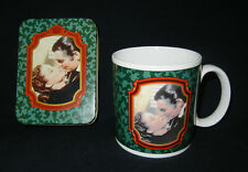 FRANKLY, MY DEAR Rhett Butler & Scarlett O'Hara : GWTW Mug and Playing Cards
