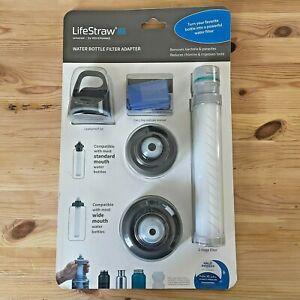 LifeStraw Universal Water Filter Bottle Adapter Kit 7640144283858 2-Stage Filter