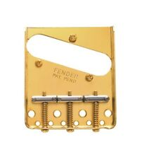 Fender® 3-Saddle American Vintage Telecaster® Bridge Assembly - Gold