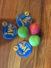 """JW Pet Company iSqueak Ball Rubber Dog Toy, Colors Vary Small 3 Pack assorted 2"""""""