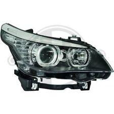 LHD Phares Projecteur Paire Angel Eyes Transparent Noir H7 H1 pour Bmw E60 61