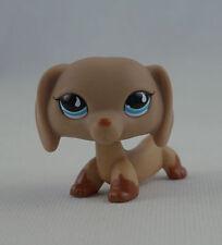 Littlest Pet Shop LPS Toys #618 Gift Teardrop Blue Eyes Dachshund Wiener Dog