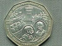 Austria Silver 5 Euro 2007 Wahlrechtsreform Male Suffrage 1907 Franz Joseph I