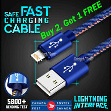 Lightning Data Sync Charger Cable for iPhone 12 11 PRO XS Max X XR 8 7 iPad iPod