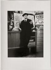 Large original 1991 dadaist Raoul Hausmann by Marthe Prévot, signed