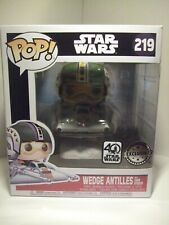 EXCLUSIVE BRAND NEW Wedge Antilles and snow speeder ship POP Star Wars figure.