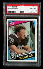 1984 TOPPS HOWIE LONG ROOKIE CARD # 111  PSA 6