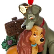 Disney Lady and The Tramp Sketchbook Ornament Figure NEW!
