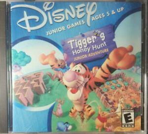 computer games, Disney, Tiggers Honey Hunt PC-CD ROM
