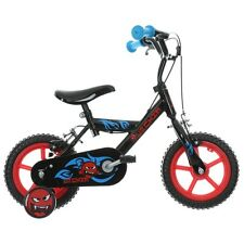 "Urchin Kids Boys Bike Bicycle 12"" Inch Wheels Steel Frame in Black Chainguard"