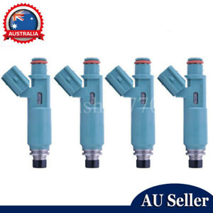 4x Fuel Injectors 2AZ-FE For Toyota Camry Tarago RAV4 Avensis Verso 23250-28020