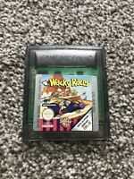 GENUINE WACKY RACES NINTENDO GAMEBOY COLOR COLOUR GAME *CART* TESTED WORKING