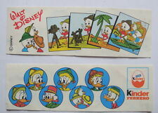 Kinder ancien montable Steckfiguren Donald Safari 1989 : Tick Track Trick  BPZ