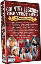 COUNTRY LEGENDS GREATEST HITS: 50 MINI CONCERTS NEW DVD