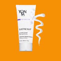 YONKA ELASTINE NUIT NIGHT CREAM 50 ML / 1.7 OZ YON-KA Smoothing Wrinkle remover
