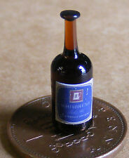 1:12 Scale Real Glass Bottle With A Whitbread Beer Label Dolls House Accessory